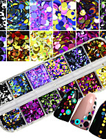 Glitter Accessories Sparkle Sequins 3-D DIY Supplies Nail Salon Tool Hand Rests