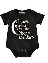 Baby Print One-Pieces,Cotton Summer Short Sleeve
