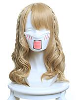 Pelucas de Cosplay Cosplay Cosplay Animé Pelucas de Cosplay 45 CM Fibra resistente al calor Mujer