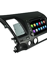 2 din táctil lcd coche dvd player android 6.0 para honda civic 2006-2011
