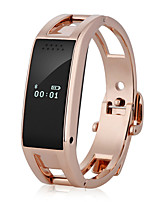 Per donna Smart watch Orologio alla moda Digitale Lega Banda Argento Oro