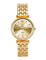 Women's Fashion Watch Quartz Alloy Band Casual Silver Gold Rose Gold