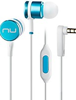 NuForce NE-Pi In Ear Wired Headphones Dynamic Aluminum Alloy Pro Audio Earphone Noise-isolating with Microphone HIFI Headset