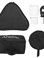 andoer photo studio multifunktionale 60 * 60cm faltende softbox mit s-type handheld flash speedlite bracket mit bowens mount und