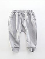 Pantalones Chico Estampado Algodón Primavera Otoño