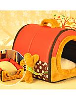Собака Кровати Животные Коврики и подушки В полоску
