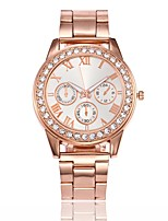 Women's Dress Watch Fashion Watch Wrist watch Unique Creative Watch Chinese Quartz Alloy Band Casual Silver Gold Rose Gold