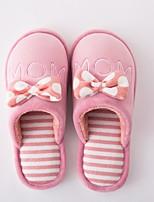 Women's Slippers & Flip-Flops Comfort Winter Flocking Casual Blushing Pink Peach Black Flat