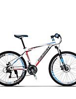 Mountain Bike Cycling 21 Speed 26 Inch/700CC SHIMANO Disc Brake Suspension Fork Steel Frame Carbon Anti-slip Aluminum Alloy