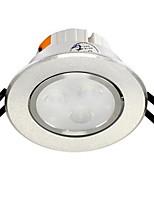 1pc 4w encastré led lumière lumière celing blanc chaud / blanc ac220v taille trou 75mm
