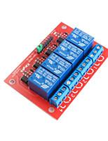 4-ch módulo de relé de disparo de alto nivel 5v para arduino