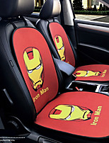 Iron Man Cartoon Hero Car Seat Cushion Seat Cover Seat Four Seasons General Surrounded By A Five Seat Headrest With 2 Wheel Sets