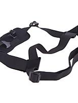 solo correa de hombro montaje pecho arnés cinturón adaptador para gopro héroe 1 2 3 3 4 cámara