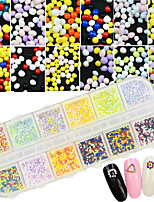 1 Manucure Dé oration strass Perles Maquillage cosmétique Nail Art Design