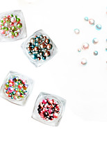 2 Manucure Dé oration strass Perles Maquillage cosmétique Nail Art Design