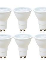 6W Spot LED MR16 1 COB 600 lm Blanc Chaud Blanc Froid Intensité Réglable Décorative AC 100-240 V GU10