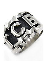 Men's Punk Gothic Stainless Steel Irregular Jewelry For Gift
