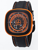 Men's Women's Sport Watch Fashion Watch Quartz Silicone Band Casual Black White Blue Red Orange Brown Green Grey Purple Beige