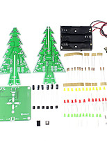 3D Christmas Tree LED Learning Kit Colorful Light DIY Electronic Set for Decoration / Gift / Display