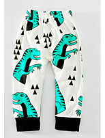 Boys' Animal print Cartoon Pants-Cotton Spring Fall
