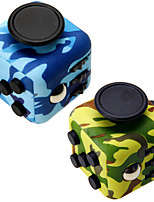 Camouflage Fidget Cube Finger Hand Top Magic Squeeze Puzzle Cube Work Class Home EDC ADD ADHD Anti Anxiety Stress Reliever 1Pc