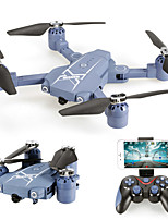Drone HC629W 4CH 6 Axis With 0.3MP HD Camera Height Holding WIFI FPV One Key To Auto-Return Auto-Takeoff Access Real-Time Footage Hover