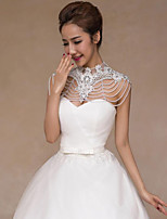 Women's Wrap Shrugs Polyester Wedding Party/ Evening Imitation Pearl
