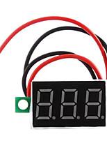 dc 4.5 - 30v светодиодный цифровой измеритель напряжения вольтметра
