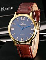 Муж. Спортивные часы Модные часы Уникальный творческий часы Повседневные часы Китайский Кварцевый Защита от влаги Кожа Группа Креатив