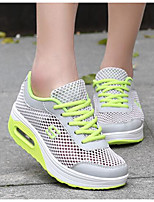 Women's Shoes Tulle Spring Fall Comfort Sneakers For Casual Light Blue Fuchsia Gray