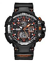 Муж. Спортивные часы Наручные часы Повседневные часы электронные часы Swiss Цифровой Календарь С двумя часовыми поясами Хронометр