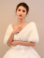 Women's Wrap Shawls Faux Fur Wedding Party/ Evening