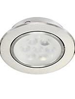 1pc 8w empotrado llevó la luz del punto luz celing caliente blanco / blanco ac220v tamaño agujero 95mm