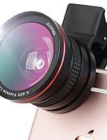 optrix exolens smartphone kameraobjektive 165 weitwinkelobjektiv 3x langes fokales objektiv für iphone6 / 6s / 6plus / 6splus ipad