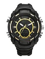 Муж. Спортивные часы электронные часы Наручные часы Повседневные часы Swiss Цифровой LED Секундомер С двумя часовыми поясами Хронометр