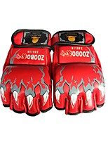Тренировочные боксерские перчатки для Бокс Без пальцев Защитный Прочный Кожа 1