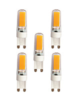 3W Luces LED de Doble Pin T 2 COB 240 lm Blanco Cálido Blanco AC 100-240 V G9
