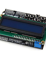 lcd1602 character lcd keypad shield v1.0 pour projets arduino diy
