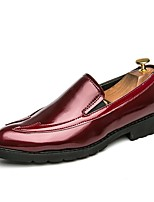 Men's Loafers & Slip-Ons Driving Shoes Formal Shoes Comfort Spring Fall Synthetic Microfiber PU Office & Career Party & Evening Flat Heel