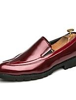 Для мужчин Мокасины и Свитер Удобная обувь Формальная обувь Обувь для дайвинга Весна Осень Искусственное волокно Для вечеринки / ужина На