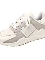 Women's Shoes Suede Fall Winter Comfort Sneakers With For Casual Black White