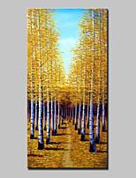 Peint à la main Paysage Format Vertical,Abstrait Moderne Un Panneau Toile Peinture à l'huile Hang-peint For Décoration d'intérieur