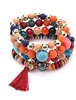 New Bohemia Colorful Natural Stone Bracelet Beads Chakra Onyx Chakra Charm Bracelet For Women Men Pulseira Mujer Accessorie