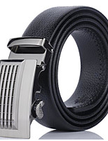 Men's Alloy Waist Belt,Work Solid