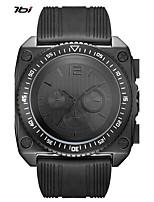 SINOBI Муж. Спортивные часы Армейские часы Японский Кварцевый Ударопрочный Крупный циферблат силиконовый Группа Cool Черный