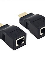 HDMI 1.3 HDMI 1.4 HDMI 2.0 Adapter, HDMI 1.3 HDMI 1.4 HDMI 2.0 to HDMI 1.3 HDMI 1.4 HDMI 2.0 Adapter Male - Female 4K*2K Gold-plated steel