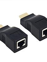 HDMI 1.3 HDMI 1.4 HDMI 2.0 Адаптер, HDMI 1.3 HDMI 1.4 HDMI 2.0 to HDMI 1.3 HDMI 1.4 HDMI 2.0 Адаптер Male - Female 4K*2K Сталь с золотым