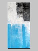 Hand-Painted Abstract Vertical,Abstract Modern One Panel Canvas Oil Painting For Home Decoration