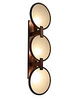 3 E14 E12 Простой LED Модерн Ретро Живопись Особенность for Светодиодная лампа,Рассеянный настенный светильник
