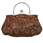 Gorgeous Silk Evening Bag Handbag Purse Clutch (7384). More Colors Available
